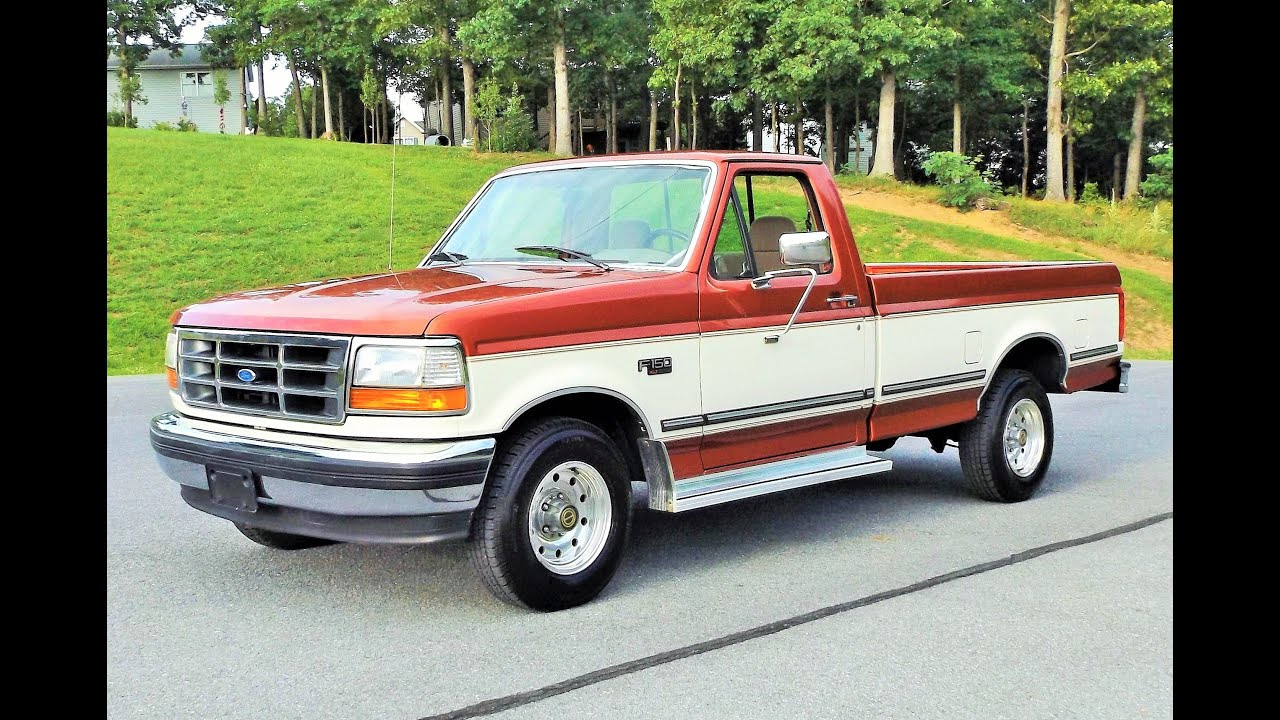 1995 ford xlt f150 owners manual