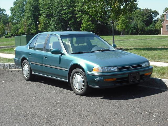 1993 honda accord 10th anniversary edition owners manual