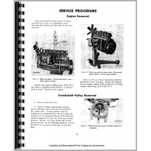 656 international tractor service manual