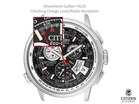 user manual for citizen eco drive watches