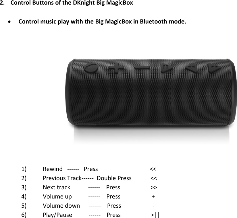 dknight magicbox 2 user manual