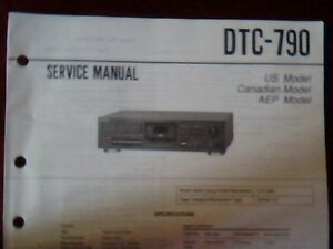 sony dtc 690 service manual