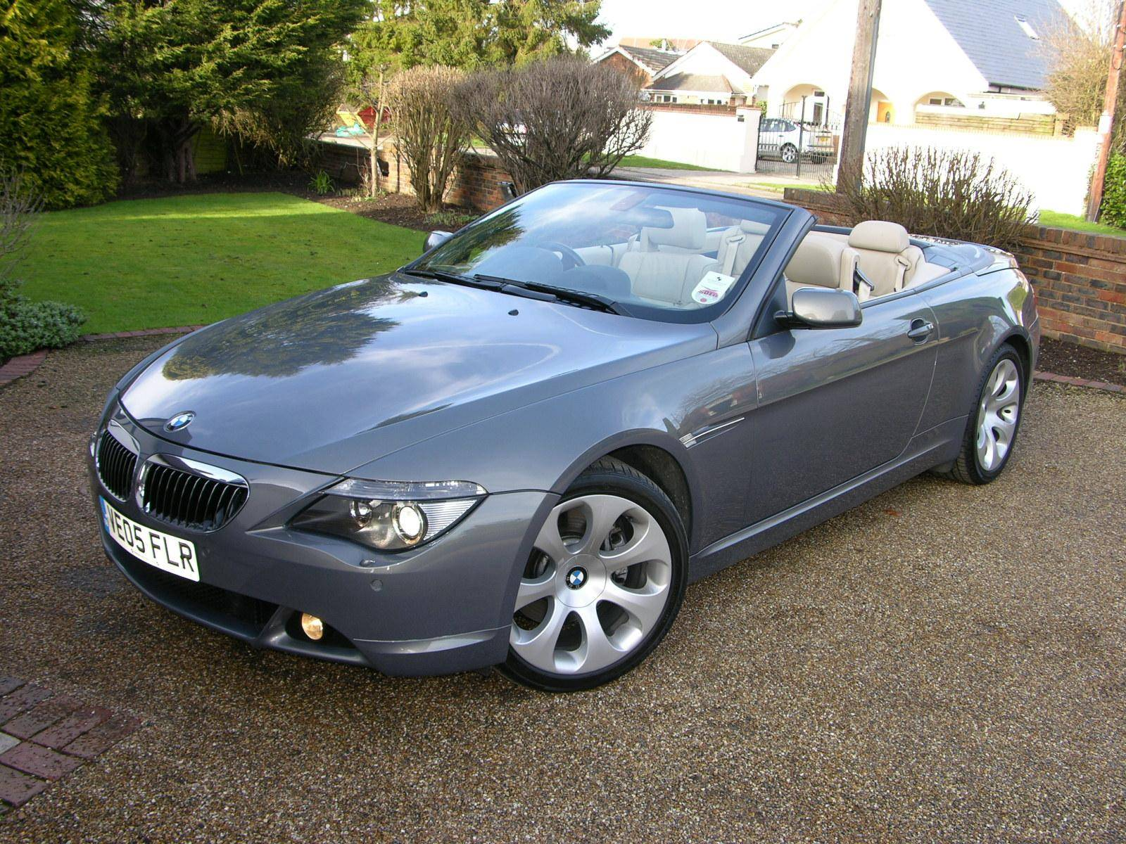 2005 bmw 645ci owners manual