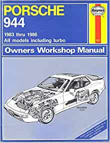 1983 porsche 944 owners manual